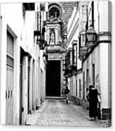 Spanish Street Canvas Print