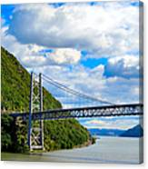 Spanning The Hudson River Canvas Print