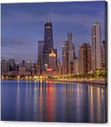 Sparkling Chicago  Canvas Print