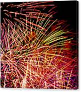 Sparkling Night Canvas Print
