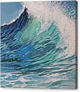 Sparkling Turquoise Canvas Print