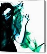 Spastic Blue Canvas Print