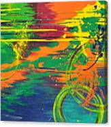 Spatial Slice Diffusion Canvas Print