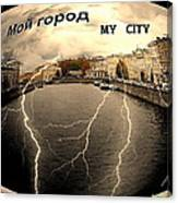 Spb-my City Canvas Print