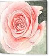 Speak Softly Love Canvas Print
