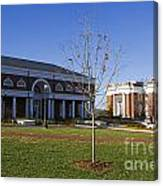 Special Collections Library And Alderman Library University Of Virginia Canvas Print