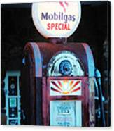 Special Mobilgas Canvas Print