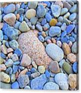 Speckled Stones Canvas Print