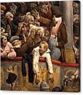 Spectacle Gratis, Avant Scene Canvas Print