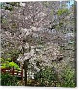 Spectacular Japanese Garden Canvas Print