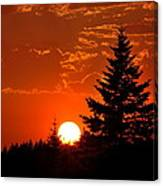 Spectacular Sunset IIl Canvas Print
