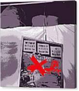 Spectators  Circus Tent Auction Adolf Hitler's 1941 Mercedes  Scottsdale Arizona 1973-2009 Canvas Print