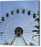 Spectrum Center Ferris Wheel In Irvine Canvas Print