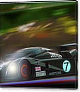 Speed 8 At Night Canvas Print