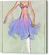 Spellbound Girl Canvas Print