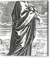 Speusippus, Ancient Greek Philosopher Canvas Print