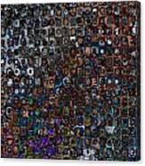 Spex Affirm Abstract Art Canvas Print