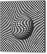 Sphere Abstract Pinch Canvas Print