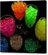 Spherical Polymer Gel 2 Canvas Print