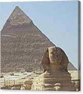 Sphinx Guard Canvas Print