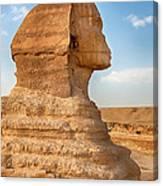 Sphinx Profile Canvas Print