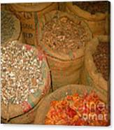 Spices From The East Canvas Print
