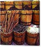 Spices In The Egyptian Market Canvas Print