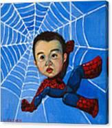 Spider-man Alan Canvas Print