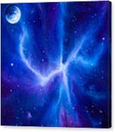 Spider Nebula Canvas Print
