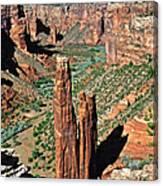 Spider Rock Canyon De Chelly Canvas Print