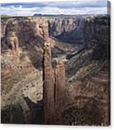Spider Rock, Canyon De Chelly Canvas Print