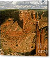 Spider Rock - Canyon De Chelly Canvas Print