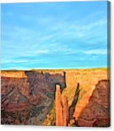 Spider Rock In Canyon De Chelly Canvas Print
