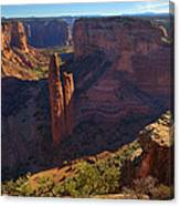 Spider Rock Sunrise Canvas Print
