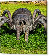 Spider Sculpture Canvas Print