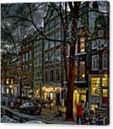 Spiegelgracht 8. Amsterdam Canvas Print