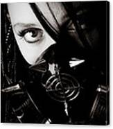 Spiked Mask Canvas Print