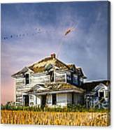 Deep Autumn In Saskatchewan Canvas Print