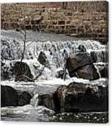 Spillway Waterfall Canvas Print