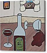 Essence Of Home - Spilt Wine Canvas Print
