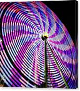 Spinning Disk Canvas Print