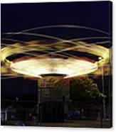 Spinning Orbiter Fair Ride Canvas Print