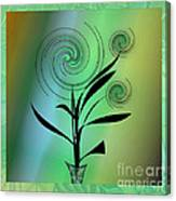 Spinning Plant Canvas Print