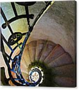 Spinning Stairway Canvas Print