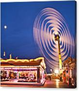 Spinning Vertical Ferris Wheel Canvas Print