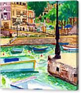 Spinola Bay Plein Air Canvas Print