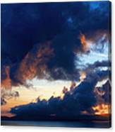 Spiral Clouds Canvas Print