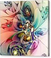 Spiral Mania 3 Canvas Print