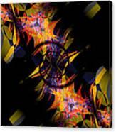 Spiral Of Burning Desires Canvas Print