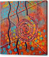 Spiral Series - Timber Canvas Print